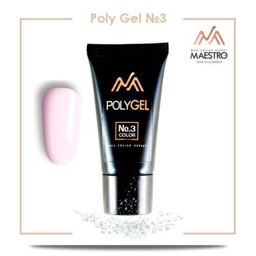 maestro Poly Gel - №3 (30g)