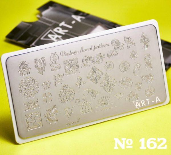 Пластина для стемпинга Art-A 162
