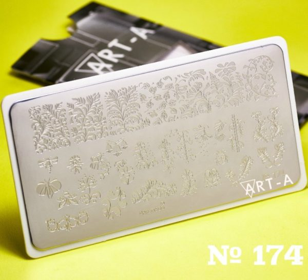 Пластина для стемпинга Art-A 174
